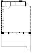 Diana Murphy Fine Arts Room Floor Plan