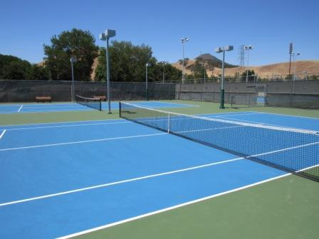 Tennis Court near Centennial Recreation Center